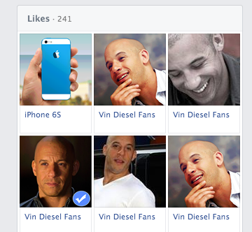 my cousin damien's likes according to facebook